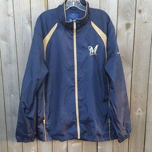 Reebok  Men's Rain Full Zip Jacket